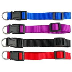 1PC New Fashion Nylon Dog Collars for Small Dogs Pet Cat Col