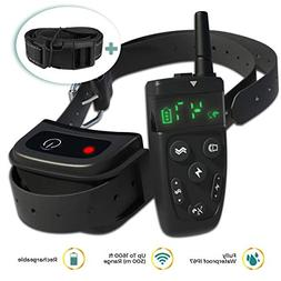 All-New 2019 Dog Training Collar with Remote | Long Range 16