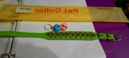 """3 NWT Angel of Love Dog Collar Fits a 10.6"""" neck With Bells"""