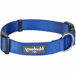 """32 Colors Classic Dog Collar, Royal Blue, Small, Neck 12""""-16"""