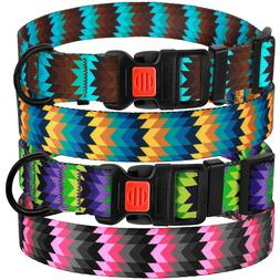 Adjustable Dog Collar with Buckle Nylon Collars for Dogs Pup