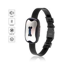POP VIEW Bark Collar  Humanely Stops Barking with Sound & Vi