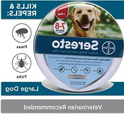 Bayer Seresto Flea and Tick Collar for Large Dog Over 18Ibs
