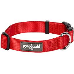 Blueberry Pet 32 Colors Classic Dog Collar, Rouge Red, Small