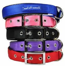 Deluxe Adjustable Thick Comfort Padded Dog Collar