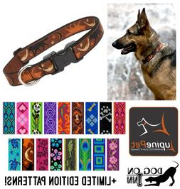 "Lupine Dog/Puppy Collar. 1"" wide, for med to XL dogs. Lifeti"
