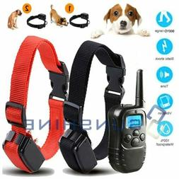 Dog Shock Collar+Training Remote 4 Modes 900 Yard Waterproof