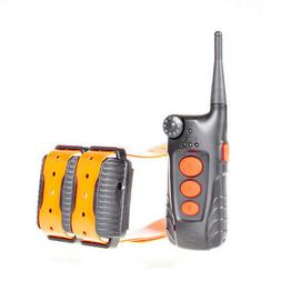Aetertek dog shock collar with remote 918C 2 dogs training a