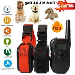 Dog Shock Collar With Remote Waterproof 4 Modes for Large 87
