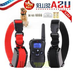 Dog Shock Collar With Remote Waterproof Electric For Large 1