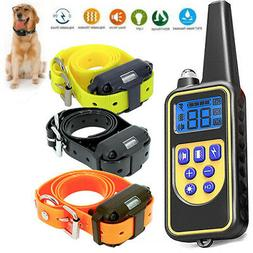 Dog Shock Collar With Remote Waterproof Electric For Large 8