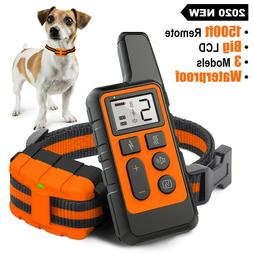 Dog Training Collar Rechargeable Remote Control Electric Pet