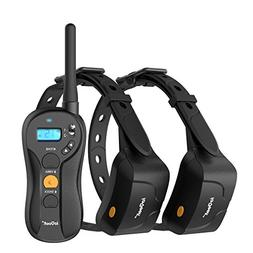 ieGeek Dog Training Shock Collar for 2 Dogs - Rechargeable &