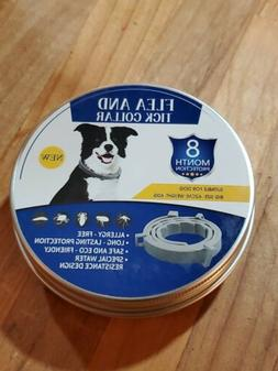 Flea And Tick Collar  for dogs  8 months protection  Size me