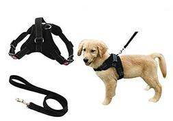 Heavy Duty Adjustable Pet Puppy Dog Safety Harness with Leas