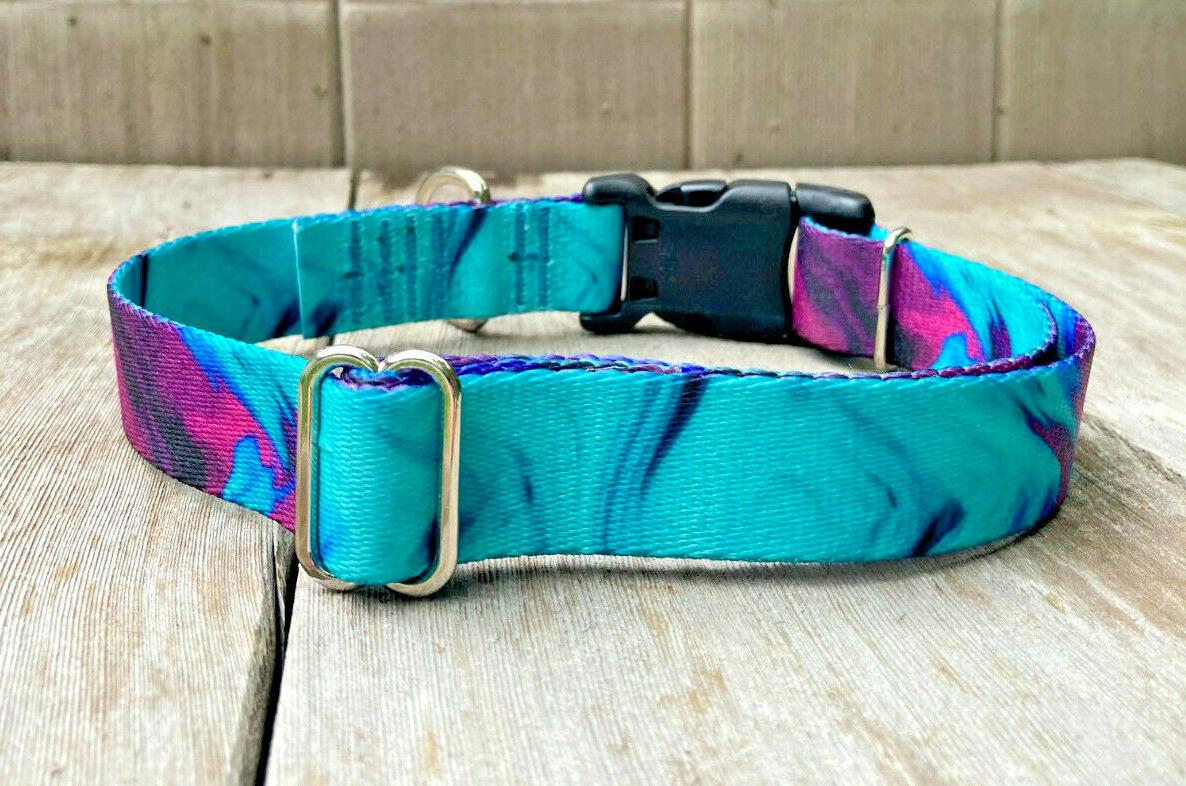 1 inch and Teal Buckle