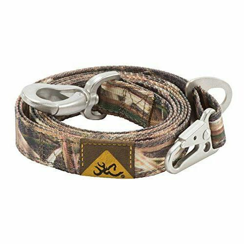 Browning Classic Camo Dog Leash, Mossy Oak Blades, 6ft X 1in