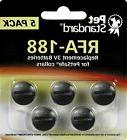 PetSafe Compatible RFA-188 Replacement Batteries Pack of 5 E