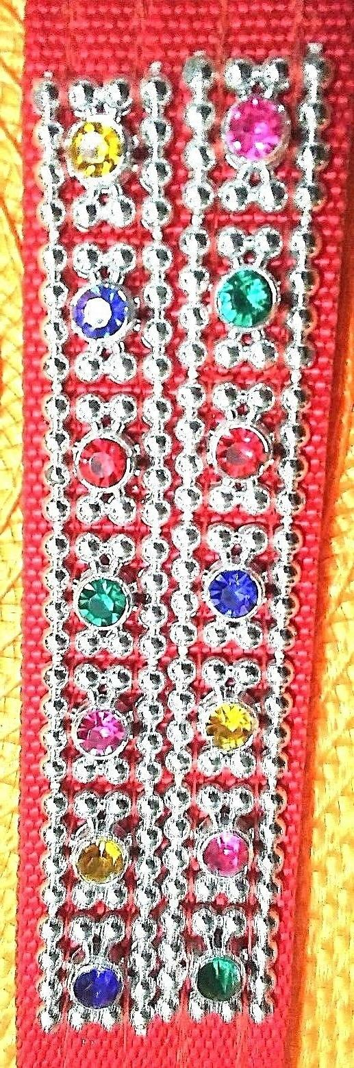 dog collar double thick extra wide multi