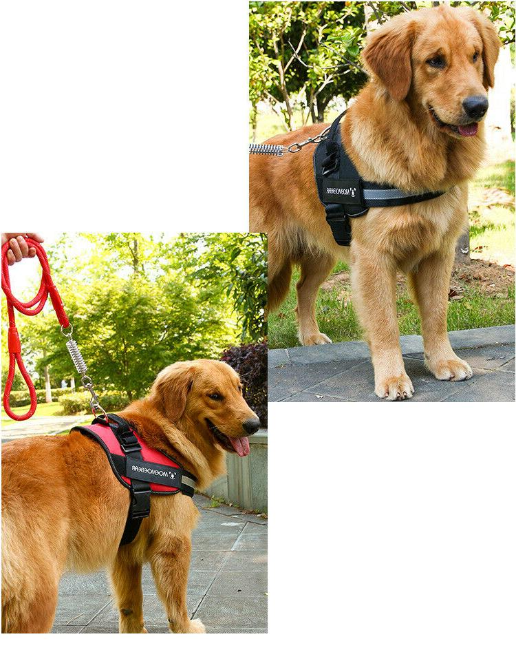 Harness No Pull Heavy K9 large Vest Collar