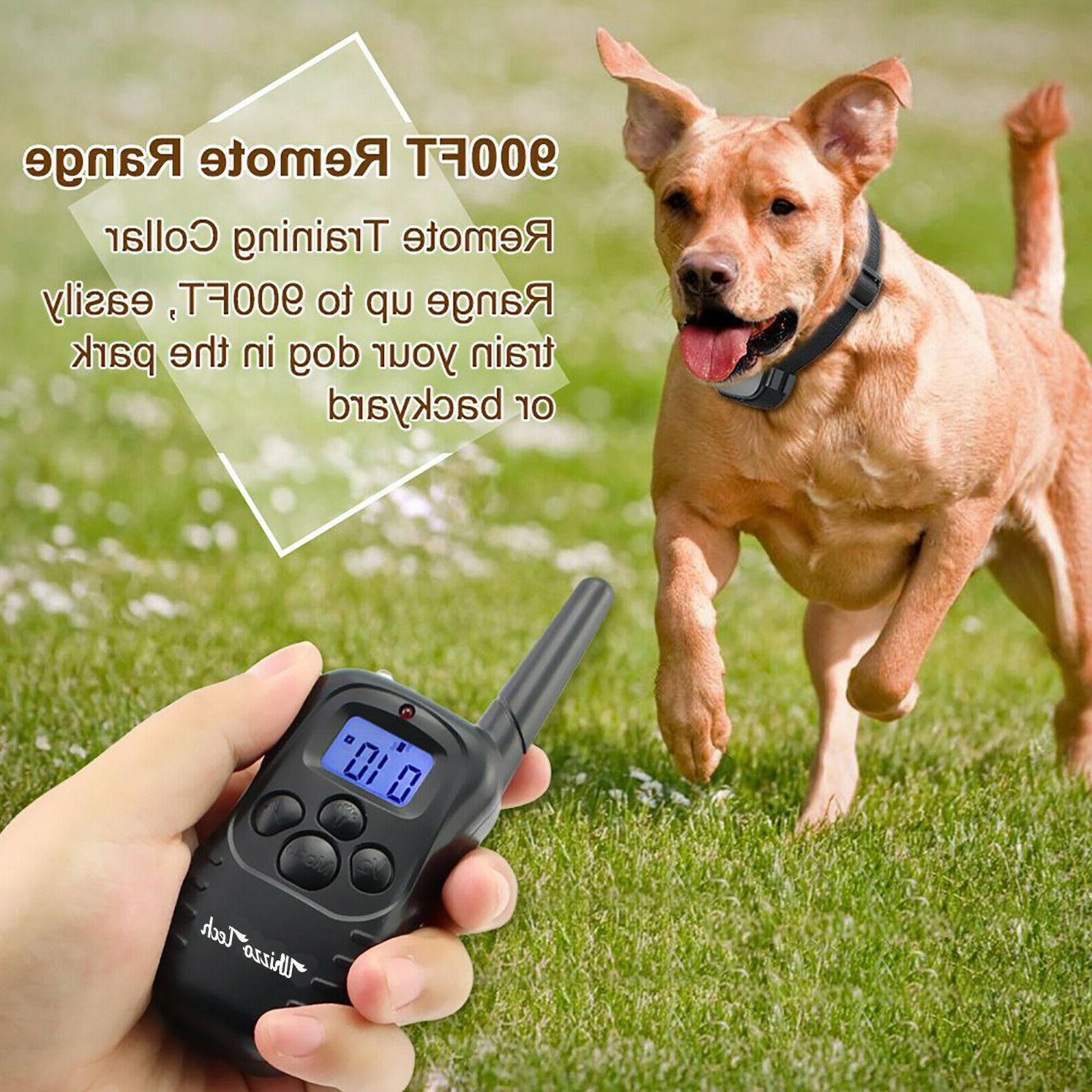 Dog Rechargeable LCD Waterproof