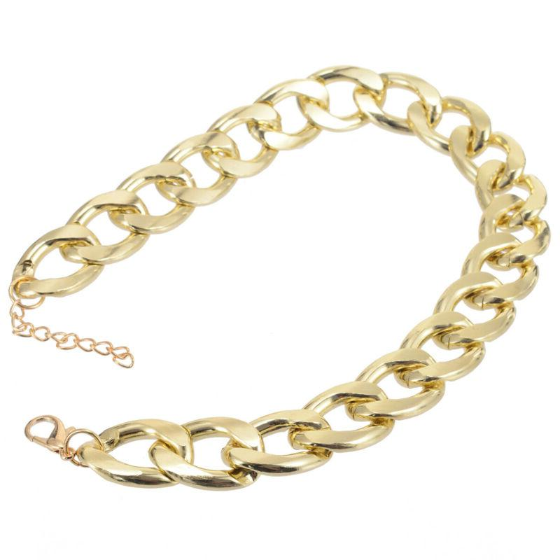 Fahion Dog Chain Link Puppy Necklace US