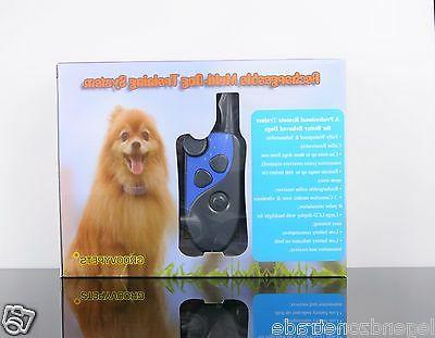 GROOVYPETS Rechargeable Yard Shock Collar