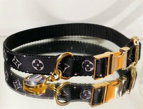 La Gucci METAL Dog Collar 14-16 Neck Rt.$68- 🐕