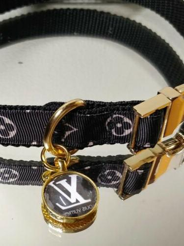 La Gucci METAL BUCKLE Fashion Collar 14-16 Neck Rt.$68- 🐕