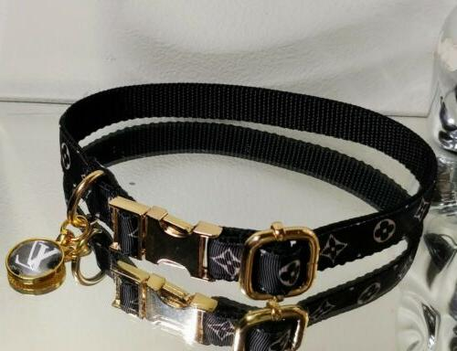 La Monogram GOLD METAL Fashion Collar Rt.$68-