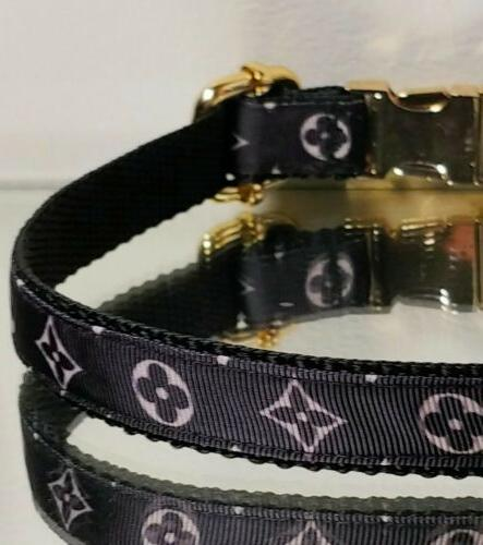 La Gucci METAL BUCKLE Collar Rt.$68- 🐕
