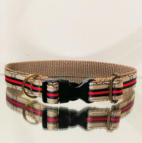 LaGucci Lattice S-M Fashion Dog Collar Necks