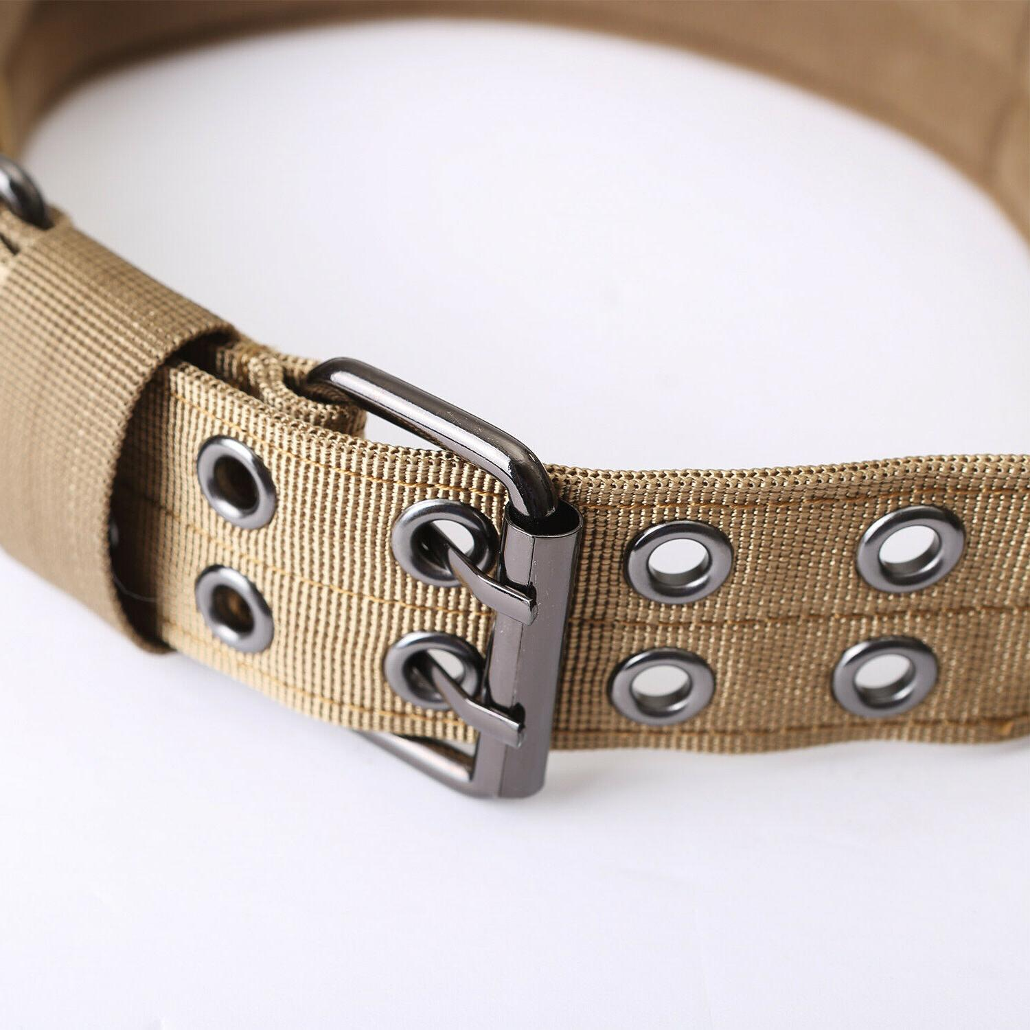 Nylon Dog Training Collars Canine Military Tactical for K9