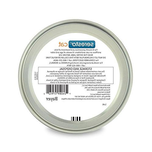 Bayer Tick Collar for Cat, all Protection, All