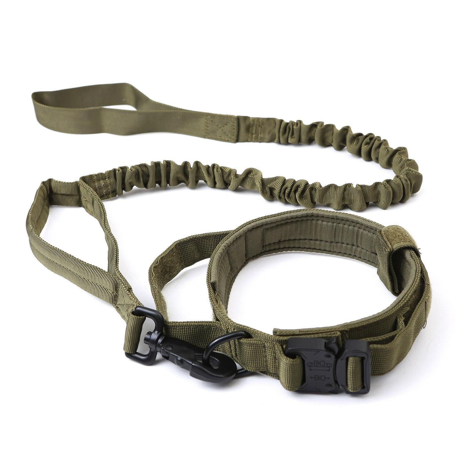 Tactical K9 Collar+Leash for L Duty