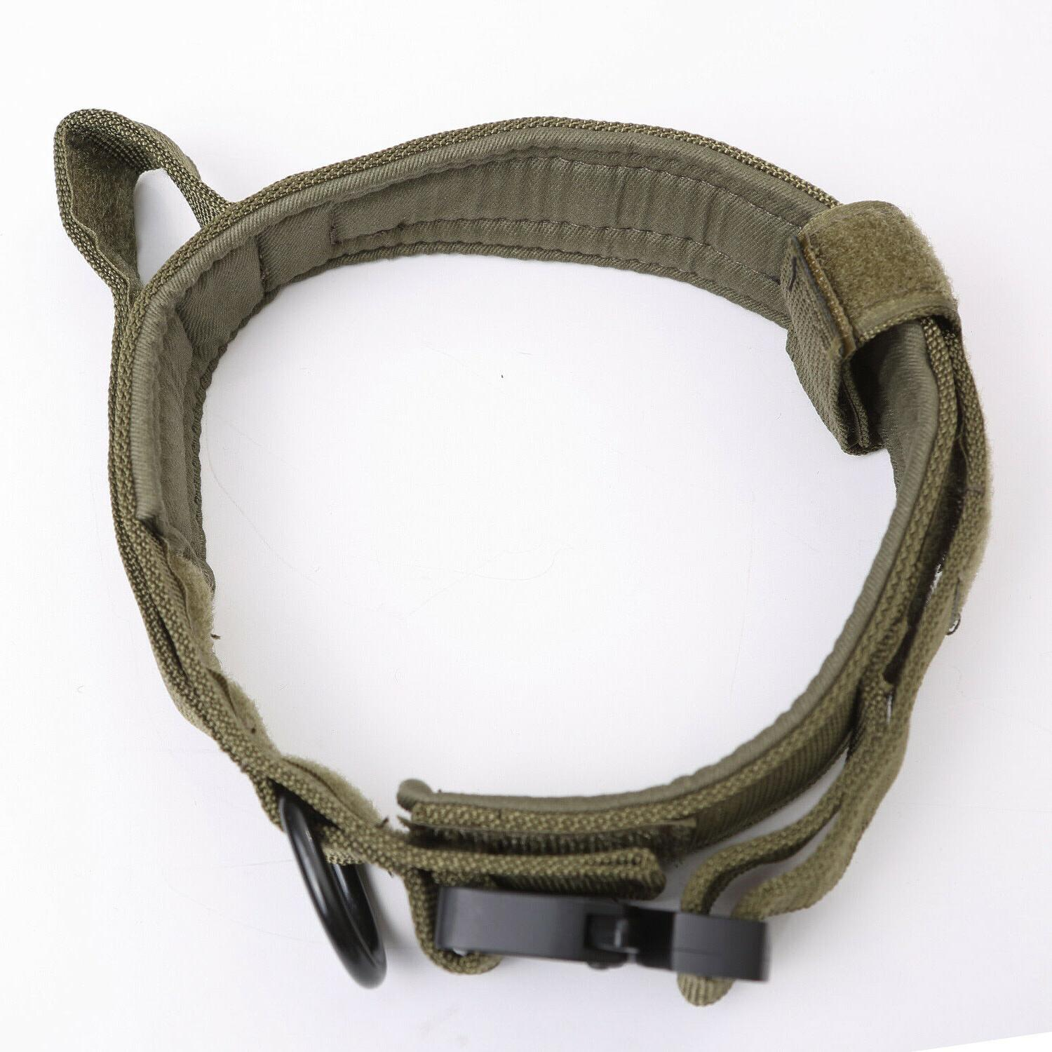 Tactical K9 Collar+Leash for Duty