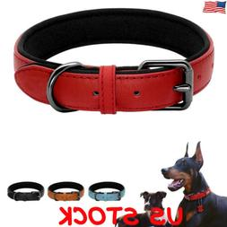 Leather Paw Studded Dog Collar Pet Puppy Collars for Small M
