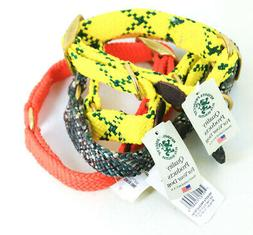 """Lot of 4 Mendota Products Various Dog Collars 1"""" x 18""""/24"""" N"""