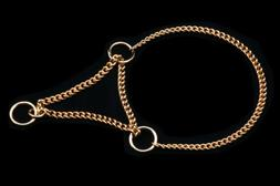 Alvalley Martingale Chain Show Collar for Dogs Thickness 1.2