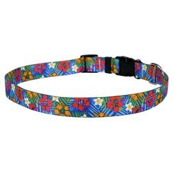 NEW Hibiscus Paradise Dog and Cat Collar, Leash or Keychain