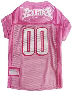 Pets First NFL Philadelphia Eagles Jersey, Small, Pink