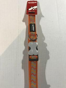 """NWP Red Dingo 25mm Reflective Dog Collar Neck Size 16.5""""-25"""""""