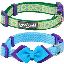 Blueberry Pet, Pack of 2, Mix and Match, Dog Collar for Dogs