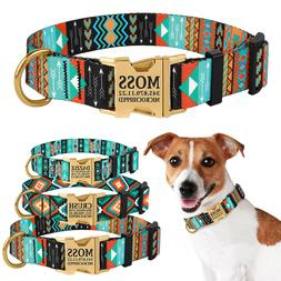 Personalized Dog Collar Custom Engraved Collars for Dogs Sid
