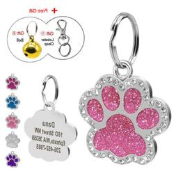 Personalized Dog Tags Engraved Puppy Pet ID Name Collar Tag