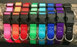 pet dog nylon collars made in ky