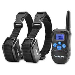Petrainer PET998DRB2 Dog Shock Collar with Remote 330yd Dog