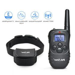 Petrainer 990ft Dog Shock Collar with Remote Dog Training Co