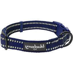 Blueberry Pet 6 Colors 3M Reflective Classic Dog Collar, Mid