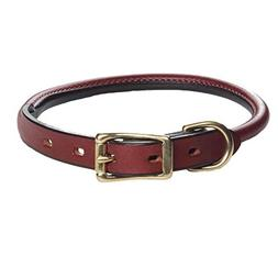 Mendota Pet Standard Rolled Dog Collar, 3/4-Inch by 20-Inch,